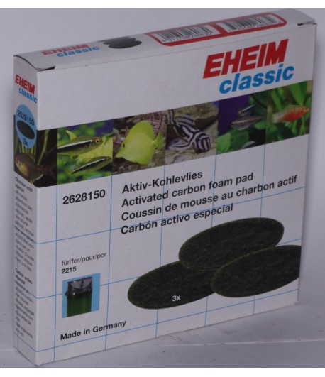 Угольные прокладки Eheim Classic 2215