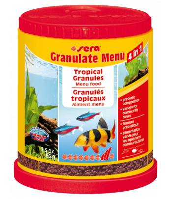 Корм Sera granulat menu