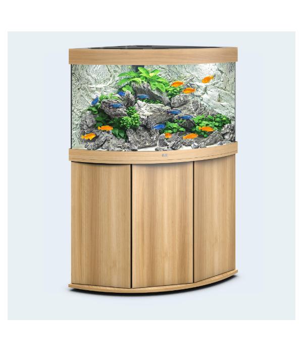 Аквариум Juwel Trigon 190 угловой с тумбой