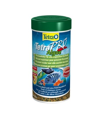 Tetra Pro Algae(Vegetable) - корм с содержанием спирулины