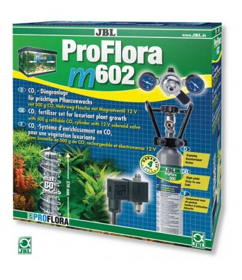 JBL ProFlora m602 - система подачи CO2 c электромагнитным клапаном