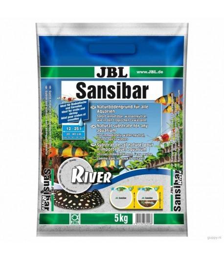 JBL Sansibar RIVER - светлый грунт с камушками черного цвета