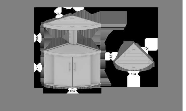 Размеры, габариты Juwel Trigon 350